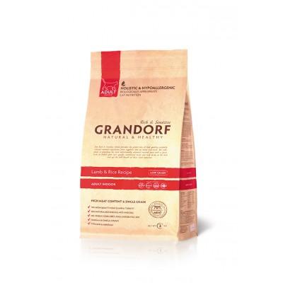 Корм Grandorf для кошек с ягненком и рисом