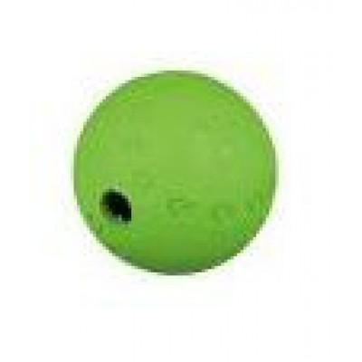Мяч для лакомства ф 6см, резина.