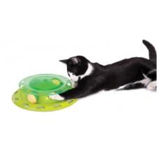 Игрушка для кошек трек с контейнером для кошачьей мяты