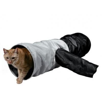 Тоннель для кошки шуршащий 115 см, ф 30 см.