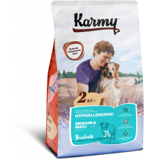 Корм Karmy Hypoallegenic Medium & Maxi гипоаллергенный для собак средних и крупных пород, ягненок