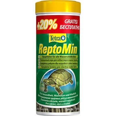 Tetra ReptoMin корм для черепах в палочках 300 мл
