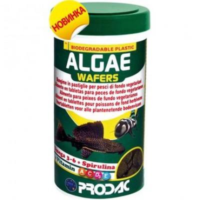 Prodac Algae Wafers для всех донных рыб-вегетарианцев в таблетках