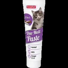 Beaphar мальт паста Duo Malt Paste для выведения шерсти для кошек
