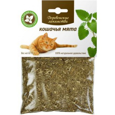 Деревенские лакомства мята кошачья