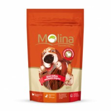 """Molina лакомство для собак мелких пород """"Нарезка из говядины"""""""