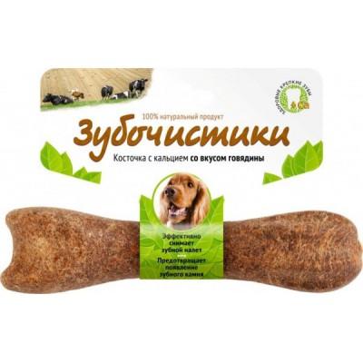 """Деревенские лакомства для собак средних пород """"Зубочистики"""" с говядиной"""