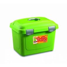 Stefanplast контейнер для хранения корма Bello 26л зеленый