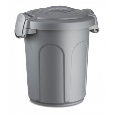 Stefanplast контейнер для хранения корма 8 л., серебристый