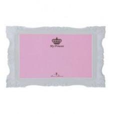 """Коврик под миску """"My Princess"""", 44*28 см, розовый"""