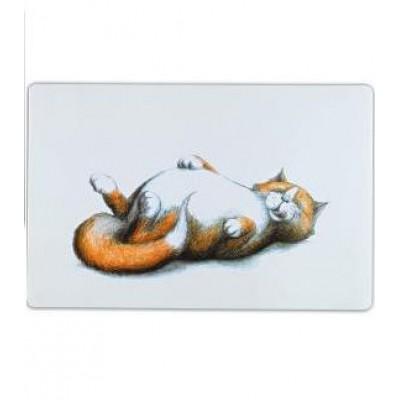 """Коврик под миску для кошек """"Thick cat"""", 44*28 см"""