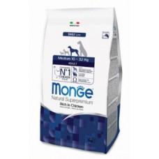 Корм Monge Dog Medium для взрослых собак средних пород