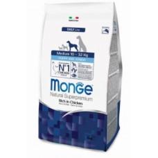 Корм Monge Dog Medium для щенков средних пород