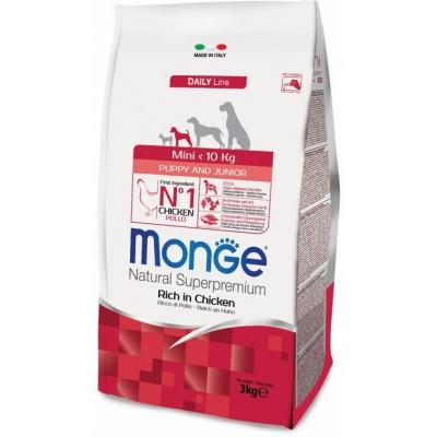 Корм Monge Dog Mini для щенков мелких пород