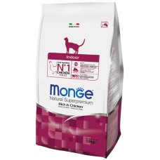 Корм Monge для домашних кошек