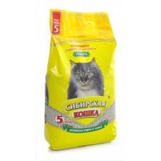 Наполнитель комкующийся Сибирская кошка, Ультра