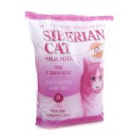 Наполнитель силикагелевый Сибирская кошка для привиредливых кошек, Элитный