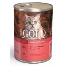 "Nero Gold корм для кошек ""Сочная говядина"""