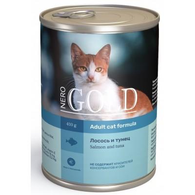 "Nero Gold корм для кошек ""Лосось и тунец"""