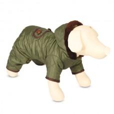 Зимний комбинезон с капюшоном для собак