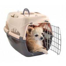 ZooM переноска для кошек и мелких собак с металлической дверцей 29*43*27,5 см