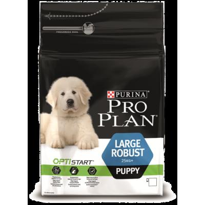 Pro Plan корм для щенков крупных пород с курицей и рисом