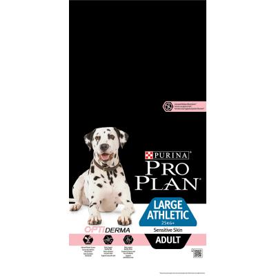 Pro Plan корм для собак крупных атлетических пород с лососем и рисом