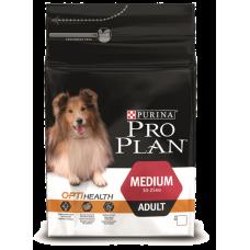 Pro Plan корм для собак средних пород с курицей и рисом