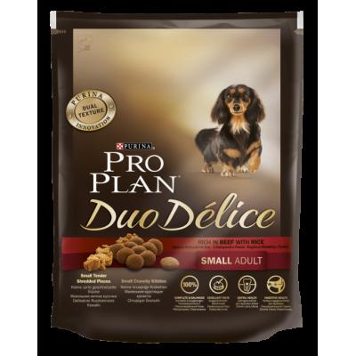 Pro Plan Duo Delice корм для собак мелких пород с говядиной