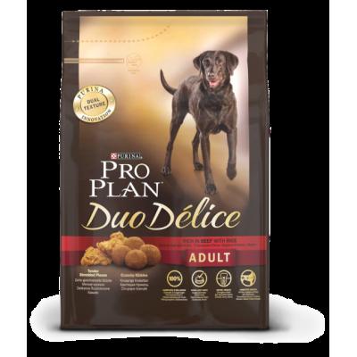 Pro Plan Duo Delice корм для собак с лососем и рисом