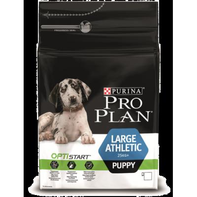 Pro Plan корм для щенков крупных атлетических пород с курицей и рисом