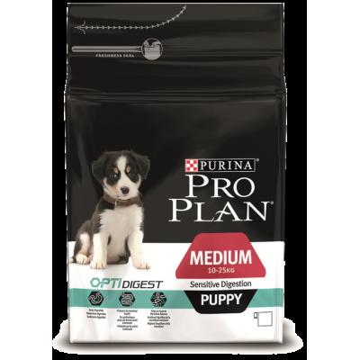 Pro Plan корм для щенков средних пород с ягненком и рисом