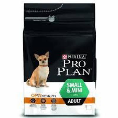 Pro Plan корм для собак мелких пород с курицей и рисом
