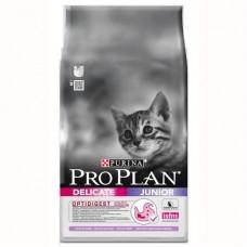 """Корм Pro Plan для котят с чувствительным пищеварением """"Junior delicate"""""""
