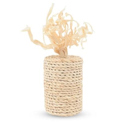 """Игрушка для кошек из кукурузных листьев """"Бобина"""""""
