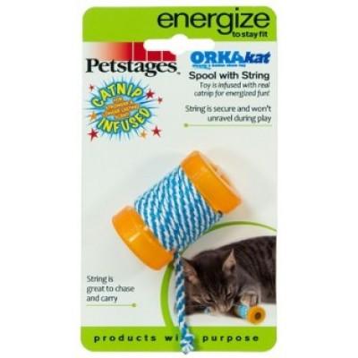 Игрушка для кошек Energize катушка с веревочкой