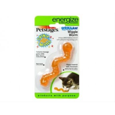 Игрушка для кошек Energize червяк