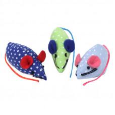 Набор игрушек для кошек 3 мышки