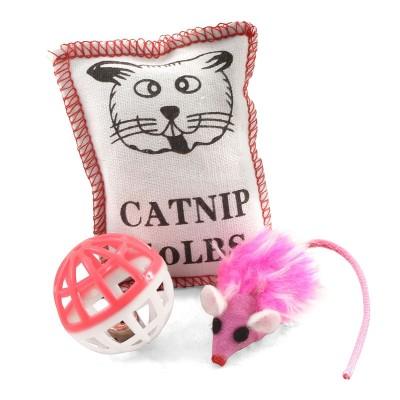 Набор игрушек для кошек