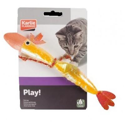 Игрушка для кошек рыбка с кошачьей мятой Karlie-Flamingo