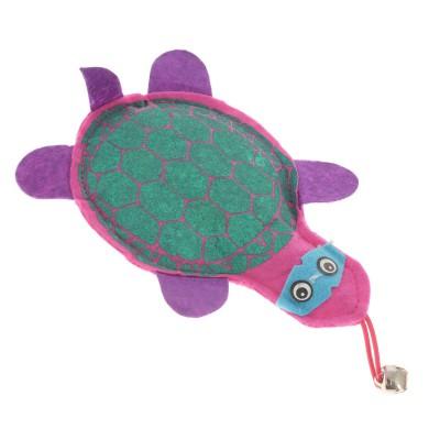 Игрушка для кошек с кошачьей мятой черепаха