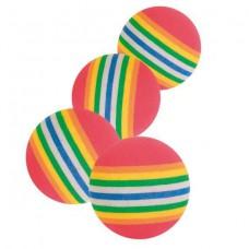 Игрушка для кошек «мяч радужный вспененный»