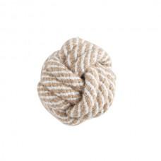 """Игрушка для собак """"Веревка - плетеный мяч"""" (светится в темноте), d50мм"""