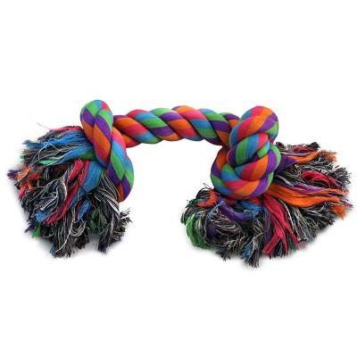 """Игрушка для собак """"Веревка, 2 узла"""", 280 мм"""