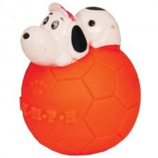 """Игрушка для собак """"Мяч с собакой"""" 7 см винил"""