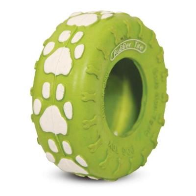 """Игрушка для собак из цельнолитой резины """"Шина"""", 90мм"""