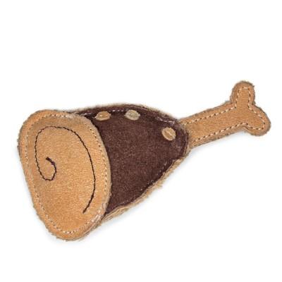 """ЭКО Игрушка для собак из натуральной кожи """"Рулька"""""""
