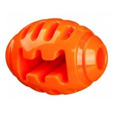 Игрушка для собак мяч регби из термопластичной резины