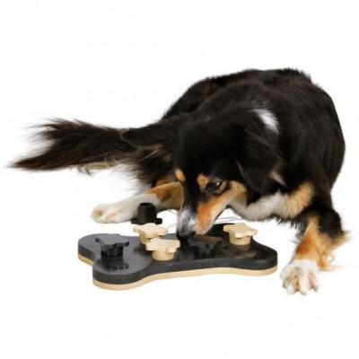 """Развивающая игрушка для собак """"Game bone"""", 31х20см."""