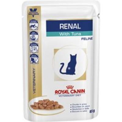 Royal Canin Renal диета для кошек при почечной недостаточности, тунец